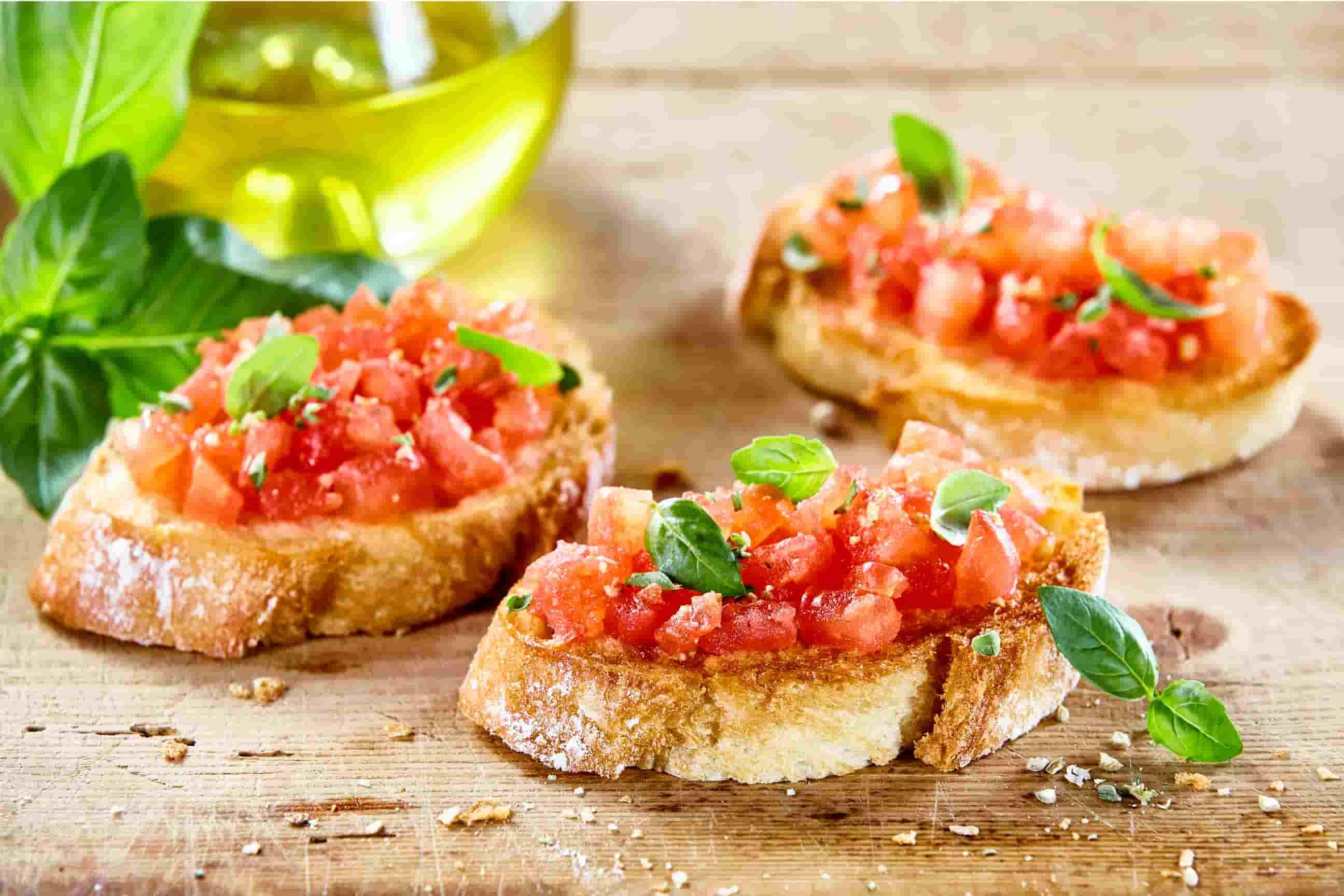 Rezept: Bruschetta mit Salsa Bruschetta